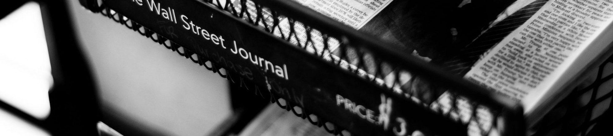 Newspapers on newstand