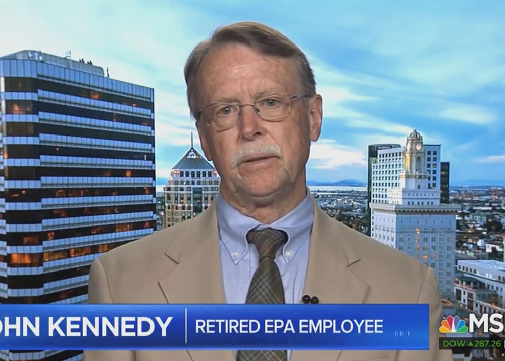 John Kennedy on MSNBC