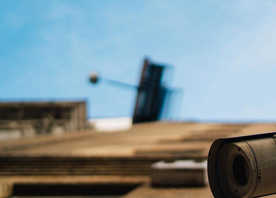 Enforcement security camera
